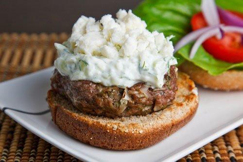 burger lamb recipe