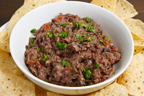 Black Bean Guacamole on Closet Cooking