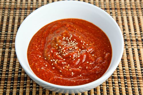 Korean Style Salsa Roja