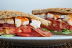 BLAST (Bacon, Lettuce, Avocado, Shrimp and Tomato) Sandwich