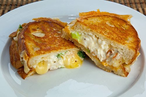 Lobster Grilled Cheese Sandwich