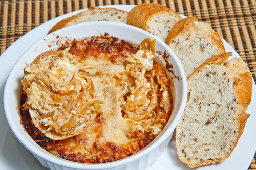Hot Caramelized Onion Dip on Closet Cooking