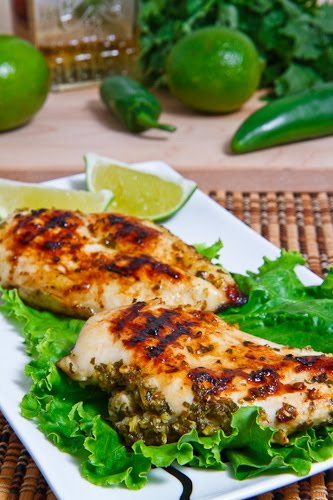 Tequila Lime Grilled Chicken on Closet Cooking