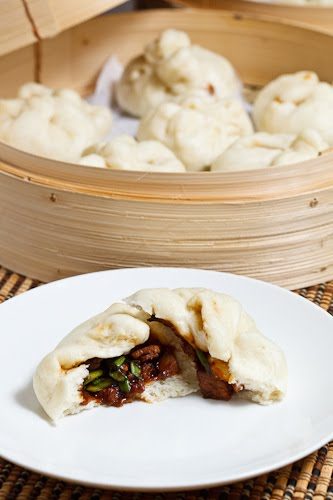 Char Siu Bao (Chinese BBQ Pork Buns) on Closet Cooking