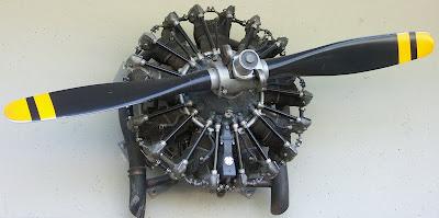 moteur pratt whitney 9 cylindres en toile passion pour l 39 aviation. Black Bedroom Furniture Sets. Home Design Ideas