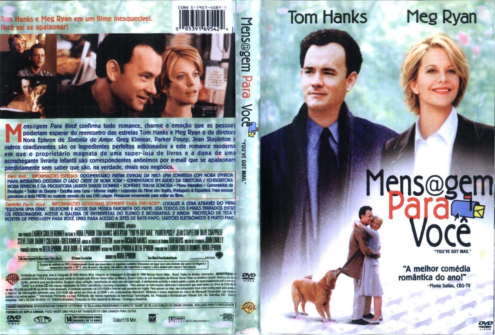 Capas Filmes de Romance: Mensagem Para Você Abbie Cornish Ryan