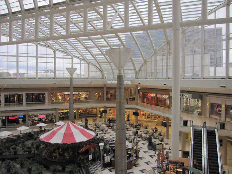 Located at the heart of Hoover is the Riverchase Galleria Mall. Circular drive goes all the way around the large mall offering multiple ways in and out. Plenty of parking of parking to be had, just remember where you parked/5(51).