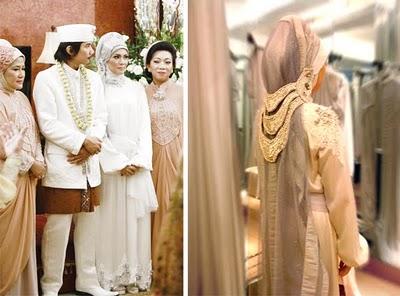 baju pengantin muslim, pengantin muslim