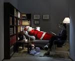 Babbo Natale dallo psicologo