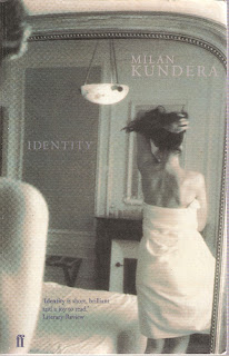 Identity bookcover; faber and faber