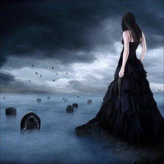 La mujer del vestido negro leyenda
