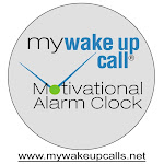 MY WAKE UP CALL® Motivational Alarm Clock