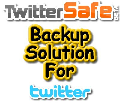 TwitterSafe, Twitter, Backup Solution
