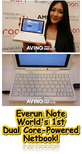 Everun Note, Raon Digital, Netbook, Low-Cost Notebook