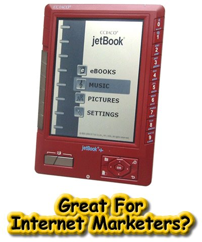 ECTACO jetBook eBook Reader, Amazon Kindle Alternative