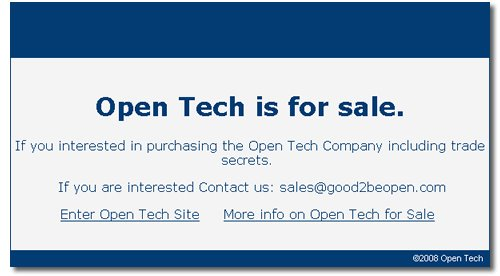 Open Tech, iOpenTech