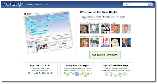 Dipity, New Features