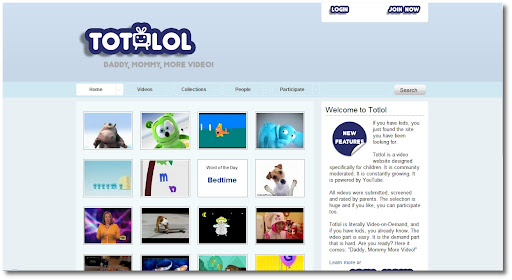 Totlol, YouTube, Videos for kids