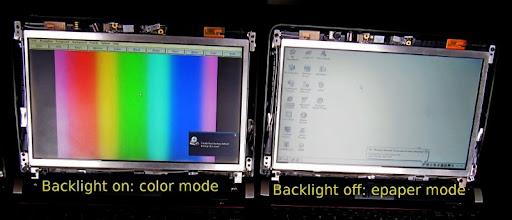 Pixel Qi 3qi/Epaper screen: Photos