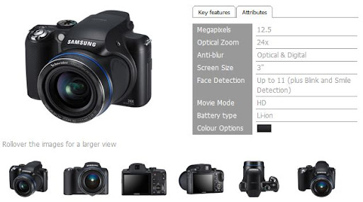 Whoops! Samsung accidentally revealed WB5000, 24x optical zoom digital camera