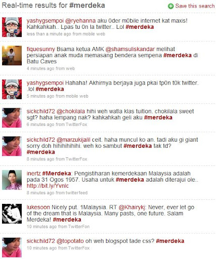 Najib, 1Malaysia Merdeka celebration failed to make an impact on Twitter