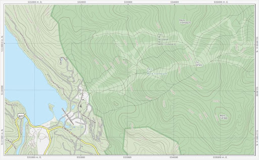 MapSherpa's printable custom maps of Canada for outdoor enthusiasts