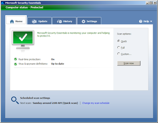 Microsoft Security Essentials: Free antivirus for Windows users