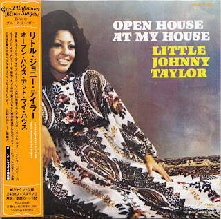 LITTLE JOHNNY TAYLOR - OPEN HOUSE IN MY HOUSE (RONN 1973) Jap mastering cardboard sleeve + 4 bonus