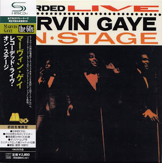 MARVIN GAYE - RECORDED LIVE ON STAGE (TAMLA 1963) Jap mastering cardboard sleeve