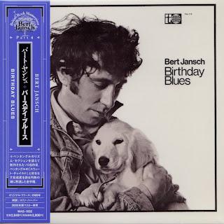 BERT JANSCH - BIRTHDAY BLUES (TRANSATLANTIC 1969) Jap mastering cardboard sleeve
