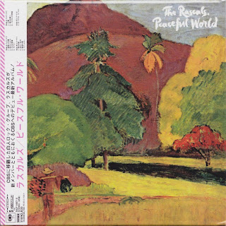 RASCALS - PEACEFUL WORLD (COLUMBIA 1971) Jap DSD mastering cardboard sleeve