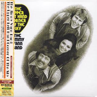JIMMY VANN BAND - THE UPPER LEFT HAND CORNER OF THE SKY (KALEIDOSOUND 1971) Jap/Kor mastering cardboard sleeve + 2 bonus