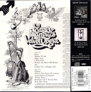 ELMER GANTRY'S VELVET OPERA - S/T (DIRECTION/CBS 1967) Jap mastering cardboard sleeve + 8 bonus