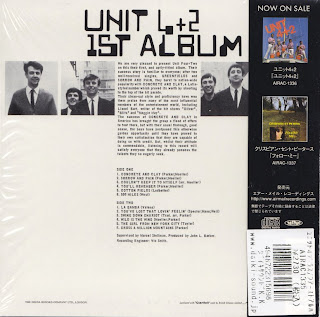 UNIT 4+2 - FIRST ALBUM (DECCA 1965) Jap mastering cardboard sleeve + 11 bonus