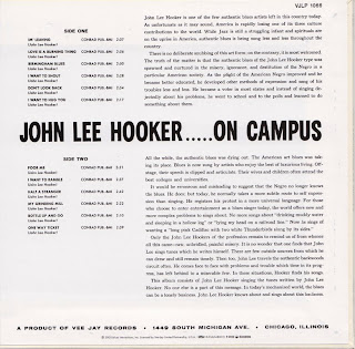 John Lee Hooker On Campus
