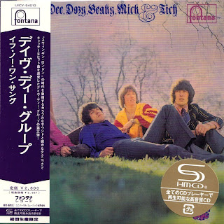 DAVE DEE,DOZY,BEAKY,MICK & TICH - IF NO-ONE SANG (FONTANA 1968) Jap mastering cardboard sleeve + 10 bonus