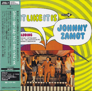 JOHNNY ZAMOT - TELL IT LIKE IT IS (DECCA 1967) Jap mastering cardboard sleeve
