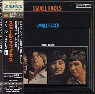 SMALL FACES - SMALL FACES (IMMEDIATE 1967) Jap mastering cardboard sleeve + 21 bonus