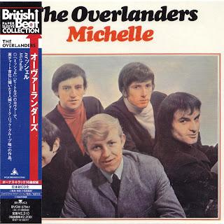 OVERLANDERS - MICHELLE (PYE 1966) JVC K2 mastering cardboard sleeve + 10 bonus