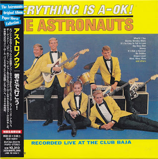 ASTRONAUTS - EVERYTHING IS A-OK (RCA VICTOR 1964) Jap JVC K2 mastering cardboard sleeve