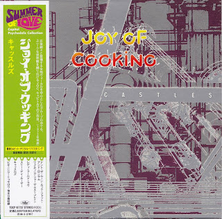 JOY OF COOKING - CASTLES (CAPITOL 1972) Jap mastering cardboard sleeve
