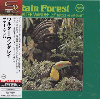WALTER WANDERLEY - RAIN FOREST (VERVE 1966) Jap mastering cardboard sleeve