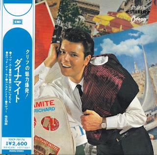 CLIFF RICHARD - DYNAMITE (ODEON 1965) Jap mastering cardboard sleeve + 6 bonus
