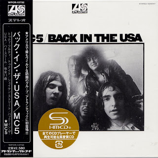 MC5 - BACK IN THE USA (ATLANTIC 1970) Jap mastering cardboard sleeve