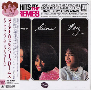 SUPREMES - MORE HITS BY THE SUPREMES (MOTOWN 1965) Jap mastering cardboard sleeve