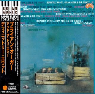 BRIAN AUGER & THE TRINITY - DEFINITELY WHAT? (MARMALADE 1968) Jap mastering cardboard sleeve + 3 bonus