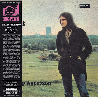 MILLER ANDERSON - BRIGHT CITY (DERAM 1971) Kor mastering cardboard sleeve