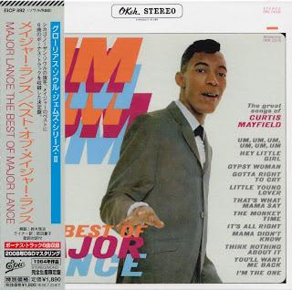 MAJOR LANCE - UM UM UM UM/BEST (OKeh 1963) Jap DSD mastering cardboard sleeve + 6 bonus