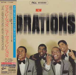 THE NEW VIBRATIONS - THE NEW VIBRATIONS (OKeh 1966) Jap DSD mastering cardboard sleeve + 10 bonus