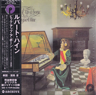Cover Album of RUPERT HINE - PICK UP A BONE (PURPLE 1971) Jap mastering cardboard sleeve + 1 bonus